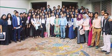 Model United Nations Conference held at The Aga Khan School, Dhaka