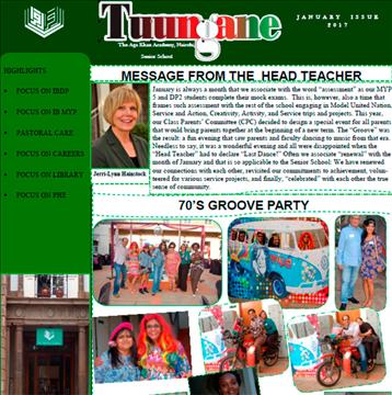 Tuungane - January 2017 Edition