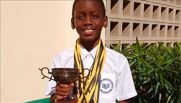 Aga Khan primary student Champions Swimming Competition