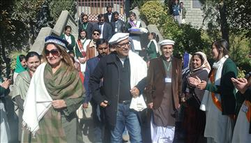 President of Pakistan, Mr. Arif Alvi, visits Aga Khan Higher Secondary School, Hunza