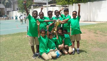 Aga Khan Football Team Shines at Tournament