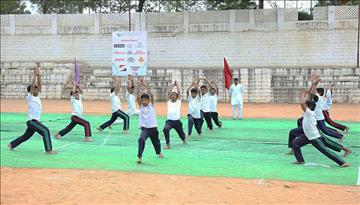 625 Students participate in the Diamond Jubilee High School Annual Sports Day