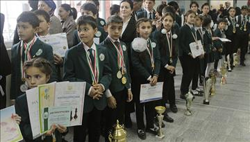 Aga Khan Lycée is hosting local Government for the celebration of Tajikistan's Constitution Day