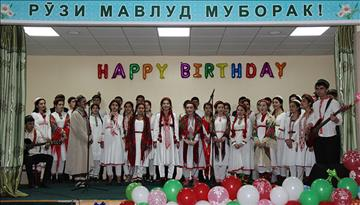 83rd birthday of His Highness, The Aga Khan celebrated at the Aga Khan Lycee in Khorog