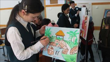 Fine Arts Education at Aga Khan Lycée in Tajikistan