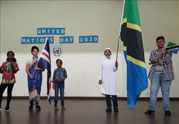 Pluralism in Action: Students Celebrate One Another on United Nations Day