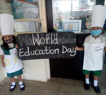 Recover and Revitalise: The Aga Khan Nursery School, Mombasa Celebrates International Day of Education